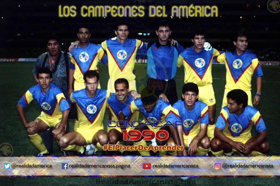 club america campeon concacaf 1990